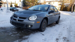 2005 dodge neon. Winter & summer tires on rims.