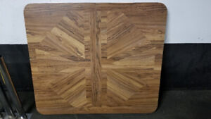 Wood Kitchen Table: Great Value - $40