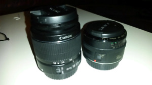 Canon EF and EF-S lens