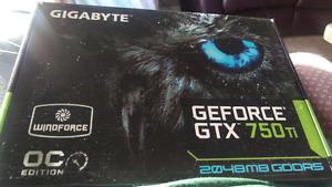 Brand New! Gtx750ti 2gb oc|10$off|Gigabyte graphic card gpu