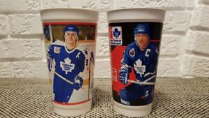 10 Vintage NHL Collector Cups