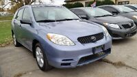 2006 Toyota Matrix Wagon CERTIFIED AND ETESTED