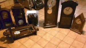 Horloges grand-père murales