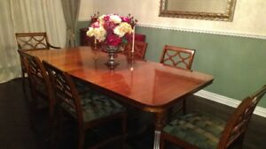 $899 - Antique solid wood dining set (899 or best reasonable off