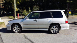 1999 JDM Import Subaru Forester Wagon