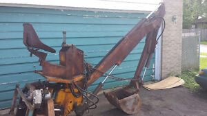McConnel 3 Point Hitch Backhoe Attachment