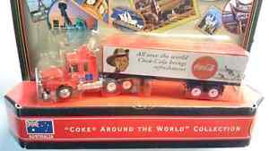 "MATCHBOX ""COKE AROUND THE WORLD COLLECTION"" SEMI TRUCK AUSTRALIA"