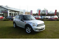 13 Mini Countryman 2.0TD ALL4 auto Cooper D, Silver, 21284 miles,