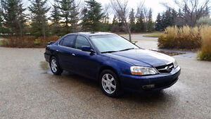 2002 Acura TL Type S c/w Summer and Winter Wheels+Tires