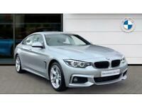2018 BMW 4 Series 420d [190] M Sport 5dr Auto [Professional Media] Diesel Hatchb
