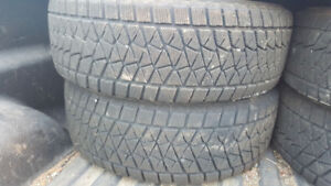 4 Bridgestone Blizzak p265/65R18 Winter off Pickup truck