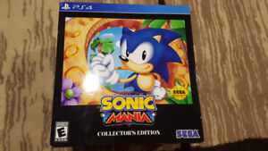 Sonic Mania PS4 Statue In box (game code no good)