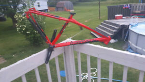 Garneau Elevation HR2 29er frame