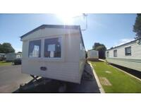 Cheap static caravan for sale at the Village Holiday park nr New Quay West Wales