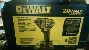 20v impact driver brand new in the box