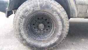 31x10.5x15 rims and tires