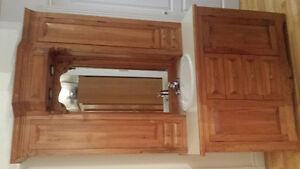 meuble vanité, armoire murale, PIÈCE UNIQUE