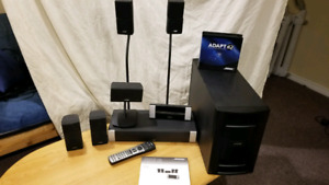 Bose Lifestyle v20 5.1 Home Theatre with speaker stands