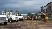 DUMP TRUCKS  FOR HIRE WITH BOBCAT SERVICE