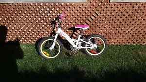 Vélo pour fille 16 po