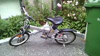 bicycle -electrique -pliable