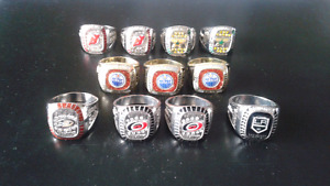 NHL Collectors Rings
