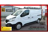 2016/65 RENAULT TRAFIC SL27 1.6 DCi 120ps WHITE DIESEL CHEAP VAN