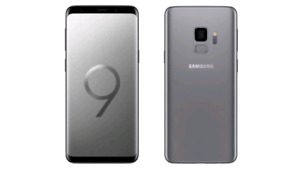 Galaxy S9 64GB factory unlocked Smartphone smartphone works per