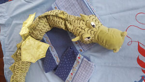 IKEA Duvet Cover and Curtain Set with Dragon! Cambridge Kitchener Area image 1