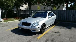 2001 Mercedes-Benz S-Class AMG PACKAGE FULLY LOADED London Ontario image 2
