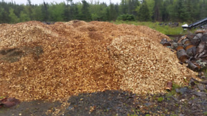 Wood Chips  $25/cubic yard