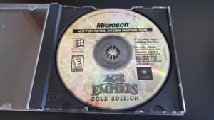 Age of Empires Gold Edition - PC CD Computer game Disc Only