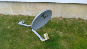 BELL dish with dual head