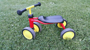 Used PUKYlino® German four-wheeler for the smallest kids