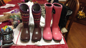 Girls Bogs $30/pair sizes 13 and 1