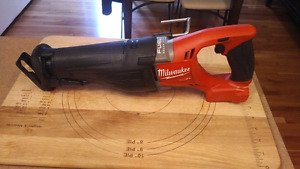 Milwaukee fuel sawzall  M18