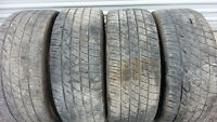All season tires 4 Toyo 245 40 19 on  Infinity 19 inch rims and