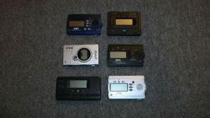 Lot of Six Guitar Tuners--All for $45