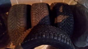 4 Nordman winter tires 225/55R17