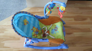Chaise berceuse vibrante portative Fisher-Price