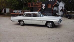 1961 Pontiac Parisienne, sedan 45000 miles.