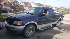 2002 Ford 150 XLT 2 wheel drive for sale.