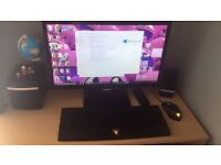 Gaming pc i33220, 4gb ram, ati 7950, 256ssd & LG monitor etc