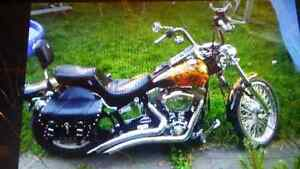 REDUCED PRICE..120 cubic inch monster softail custom