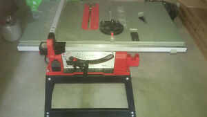 Skilsaw tablesaw with stand