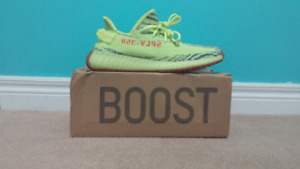 YEEZY 350 BOOST Frozen Yellow Size 11