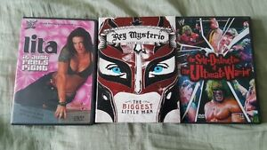 WWF DVD Lita,Rey Mysterio,Ultimate Warrior