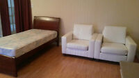 ****Central Location - Furnished X-Large Room****
