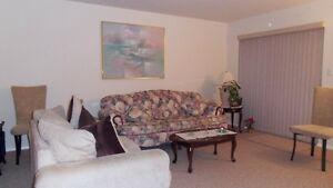 Furnished 2 Bedroom in 55 plus Building
