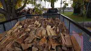 DRY firewood free local delivery all hardwood